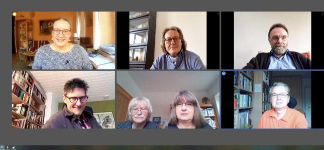 Online-Sitzung VS-Vorstand
